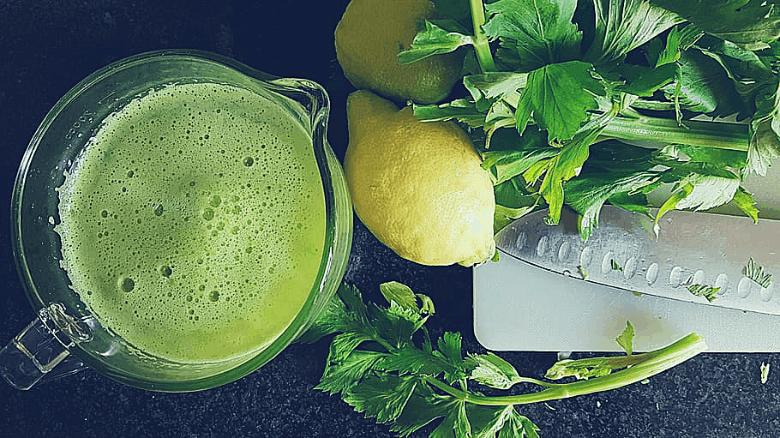 cup of celery juice
