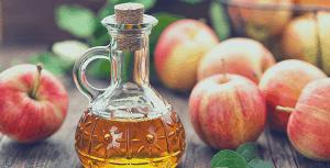 Bottle of Applc Cider Vinegar