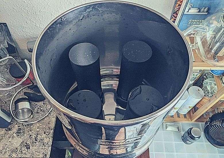 picture of 4 Berkey filters